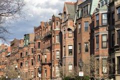 Windows von Boston Lizenzfreie Stockfotos