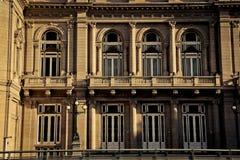 Windows von ³ n Teatro Colà Lizenzfreie Stockfotografie