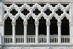 Windows von Venedig Stockbild
