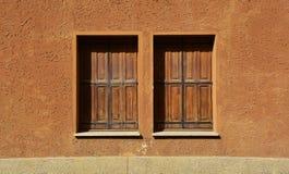 Windows w Grions Zdjęcie Stock