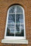 Windows on a Wall of Bricks Royalty Free Stock Image