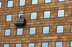 Windows washing Stock Photo