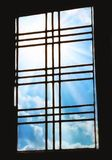 Window, way to the world. Windows, way to socialise and connect to the world. You hate to live in isolation keep your windows open Stock Image