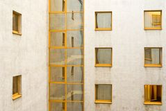 Windows in windows. Windows reflected in other windows Royalty Free Stock Photography