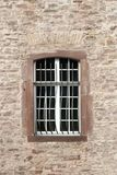 Windows. On the building, brick facade stock images