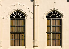 Windows with wooden shutters Brighton Pavilion Royalty Free Stock Images