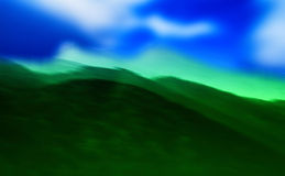 Windows XP hills Royalty Free Stock Image
