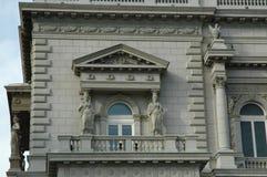 Windows y balcón imagen de archivo libre de regalías