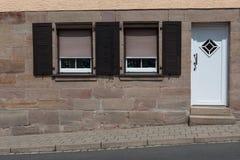 Windows y puertas Foto de archivo libre de regalías