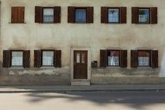 Windows y puertas Imagenes de archivo