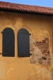 Windows z żaluzjami Obraz Royalty Free