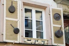 Windows z żaluzjami Zdjęcie Stock