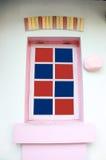Windows z kolorowym artystyczny projekt Obrazy Royalty Free