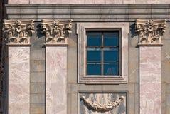 Windows z kolumnami. Obraz Stock