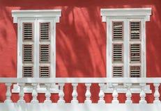 WindowShutters Stock Photo