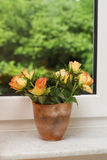 At windowsill Royalty Free Stock Images