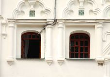 Windowsin白色历史大厦 库存照片