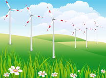 Windpark Royalty Free Stock Photography