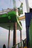 Windpark al largo Fotografia Stock Libera da Diritti