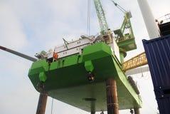 Windpark al largo Immagine Stock Libera da Diritti