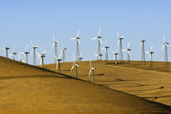 Windpower σε Καλιφόρνια Στοκ Εικόνες