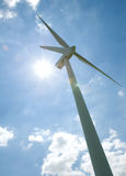 Windpower Royalty Free Stock Photography