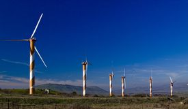 Windpower Royalty Free Stock Photos
