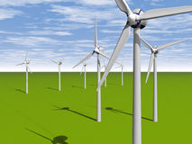 Windpower Στοκ Εικόνες