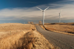 Windpower fotografia stock