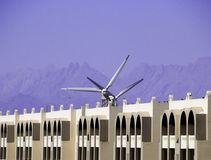 Windpower Imagem de Stock Royalty Free