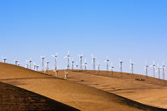 Windpower in California Stock Images
