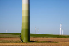 Windpower Green Technology Royalty Free Stock Photography