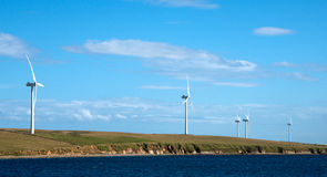 Windpower Royalty Free Stock Photo