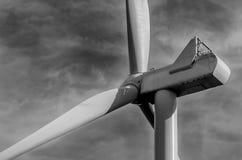 Windpower turbine. Wind-power turbine in Finland Royalty Free Stock Image