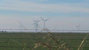 Windpower w Oklahoma Fotografia Royalty Free