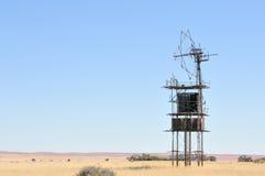 Windpump dichtbij Helmeringhausen, Namibië royalty-vrije stock foto's