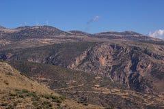 Windräder von Griechenland Stockbild