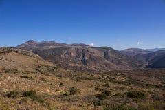 Windräder von Kreta/von Griechenland Stockfotos