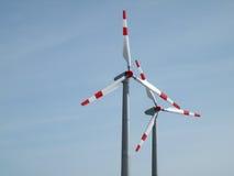 windrad Energie Lizenzfreie Stockfotografie