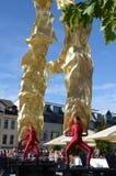 Windriders performence. At old city festival sonneberg thuringia germany september 2012 Stock Image