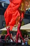 Windriders performence. At old city festival sonneberg thuringia germany september 2012 Stock Photo