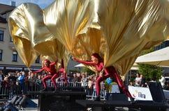 Windriders performence Stock Photo