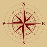 Windroos royalty-vrije illustratie