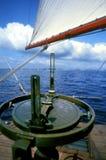 Windroos aan Kust Stock Foto
