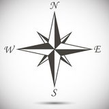 Windrose标志 库存图片