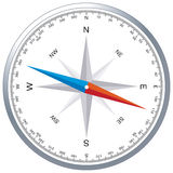 Windrose compass Royalty Free Stock Image