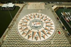 Windrose e planisphere Imagens de Stock Royalty Free