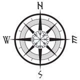 Windrose, Runen- Kompass der Navigation, vegvisir vektor abbildung
