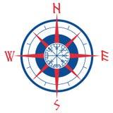 Windrose, Runen- Kompass der Navigation, vegvisir lizenzfreie abbildung