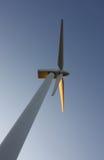 winds för strömstation Arkivbilder